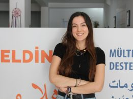 Dilara Turker, psychosocial support specialist for refugees and asylum seekers in Turkey